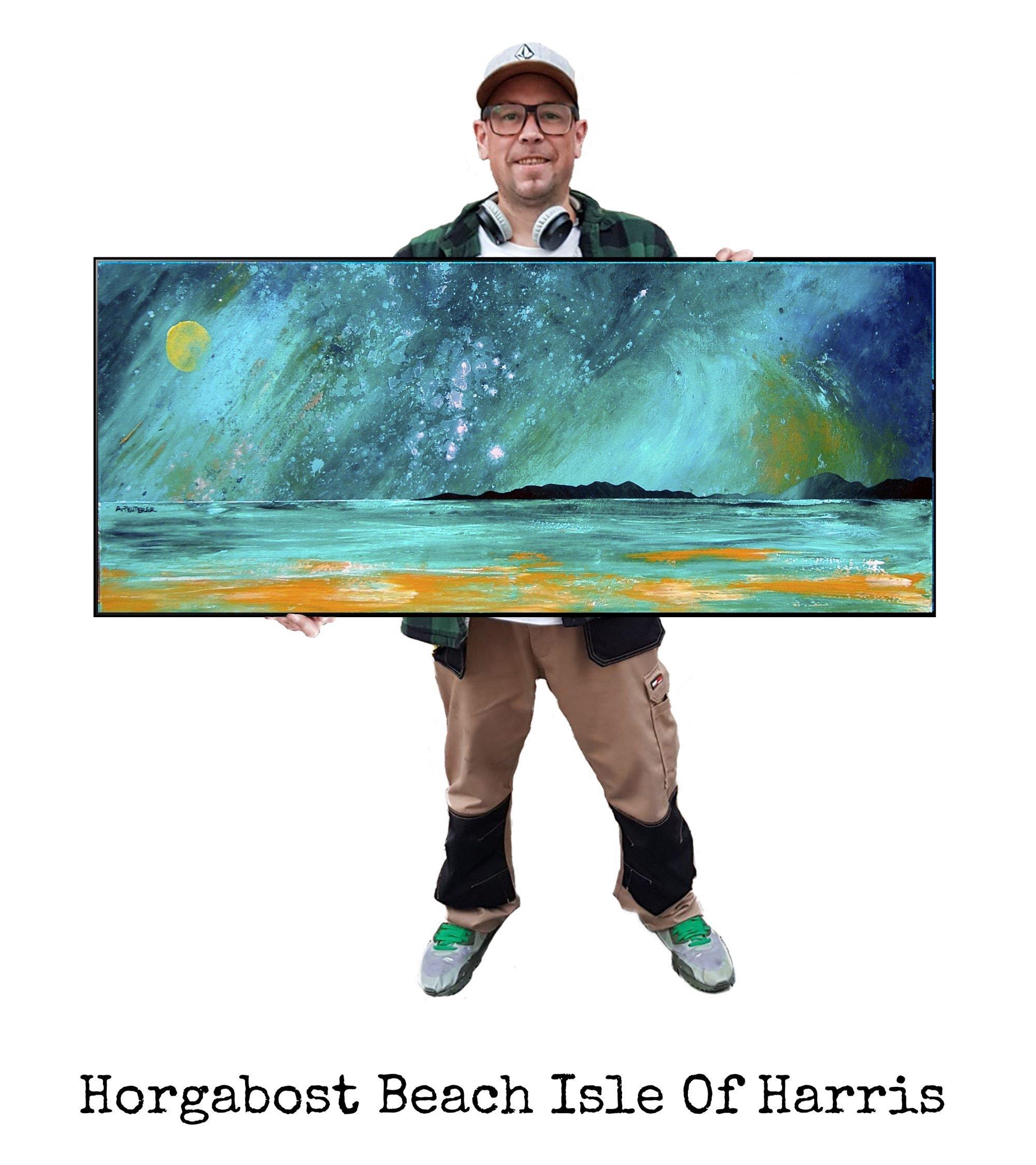 Horgabost, Harris - Original Painting & Various Print Formats