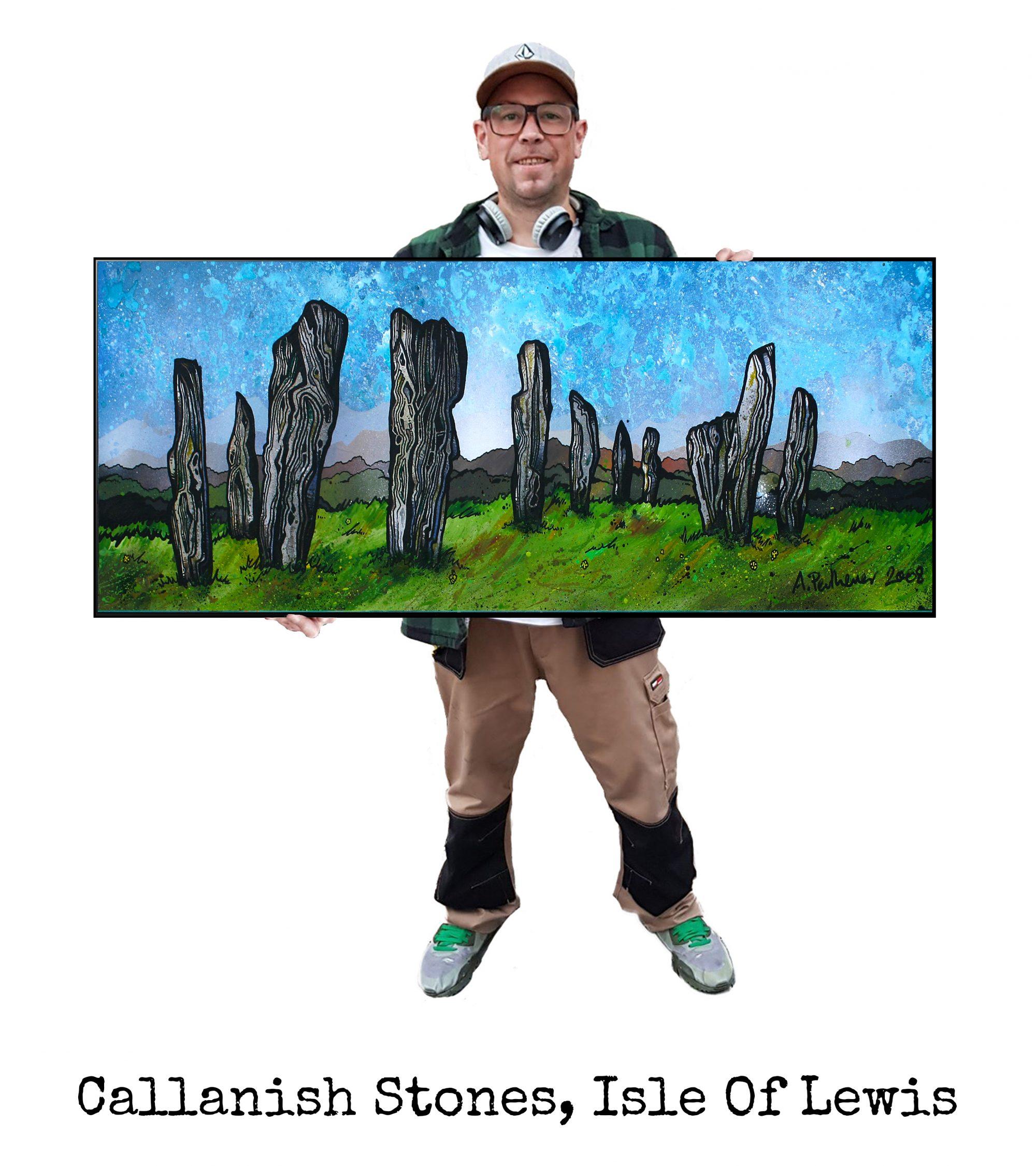Callanish Stones. lewis - Original Painting & Various Print Formats