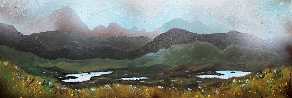 Airdhbruach, Lewis - Prints from original Scottish landscape painting by A Peutherer