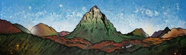 Paintings & prints of Buachaille Etive Mor.3, GlenCoe, Scottish Highlands