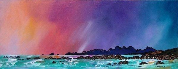 Saligo, Isle of Islay , Hebrides, Scotland - Prints of an original Scottish landscape painting