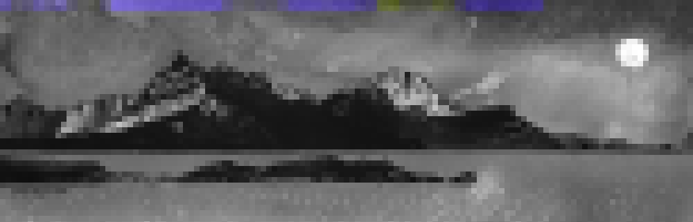 Painting & prints of Loch Sligachan Sunset, Isle of Skye, Scottish Western Isles.