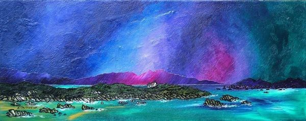 Painting & prints of Mull & Iona, Scottish Inner Hebrides.