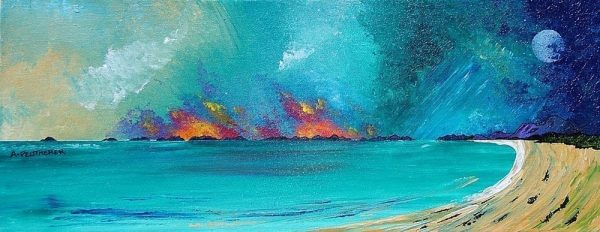 Painting & prints of South Uist, Scottish Western Isles, hebrides