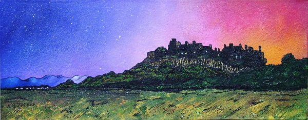 Stirling Castle, Scotland - Fine art prints of an original Scottish landscape painting by artist Andy Peutherer
