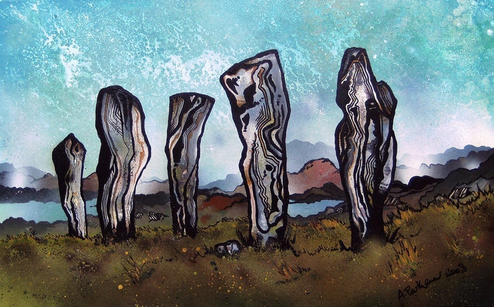 The Callanish Standing Stones, Callanish, Isle Of Lewis, Outer Hebrides, Scotland. - A Painting & prints.