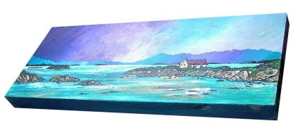 Painting of the Isle of Barra, Scotland