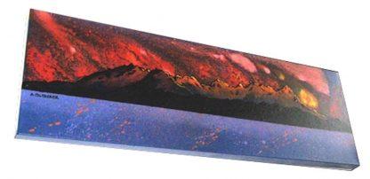 Painting & prints of The Cuillin Ridge From Arasaig, Isle of Skye, Scotland
