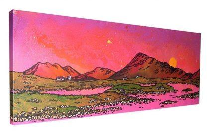 North Uist painting, Scotland