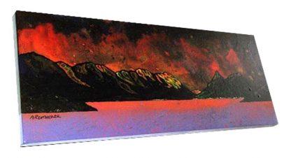 Paintings & prints of Ballachulish & pap of Glencoe, Loch leven, Scotland