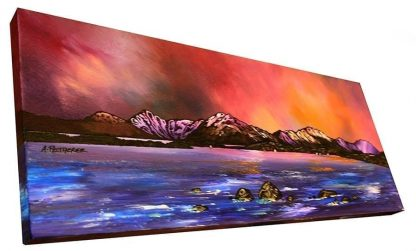 Loch Lomond painting