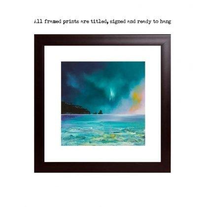 Framed prints of Talisker Bay, Isle of Skye, Scotland.