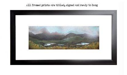 Framed print of Airdhbruach, Isle of lewis, Scottish western Isles, Hebrides