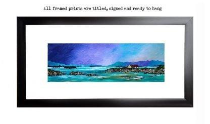 Framed print of Barra, Scotland