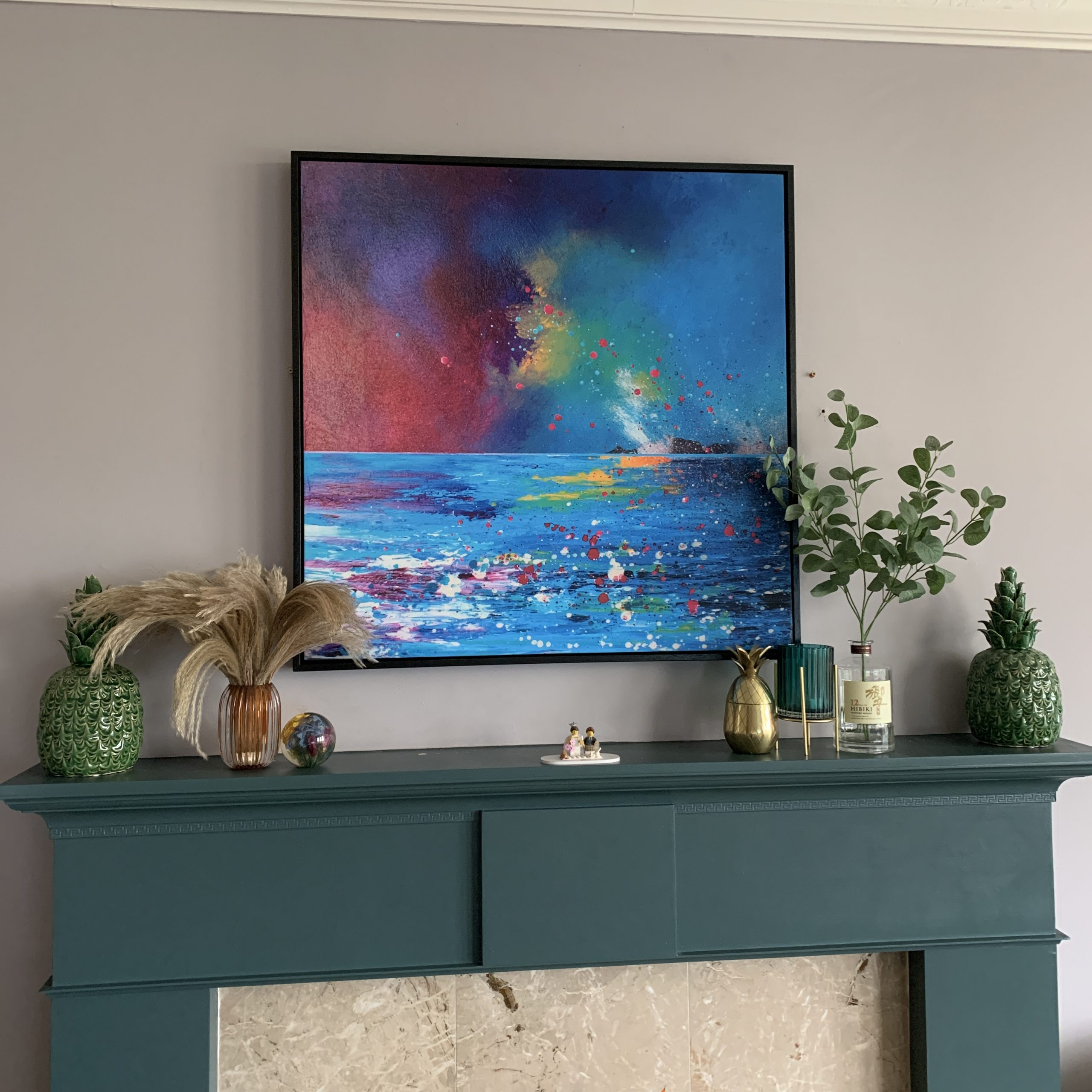Mull, Oban - Canvas print from scottish painting