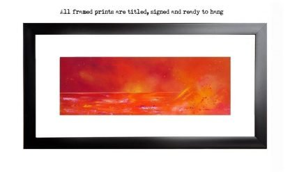 Framed print of The Silver Sands Of Morar, Arisaig, Scotland by Glasgow artist A Peutherer