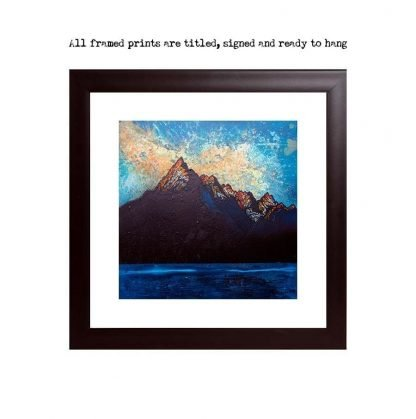 Framed prints of Cuillin 2, Winter Sunset, Cuillin mountains, Isle Of Skye, Scotland.