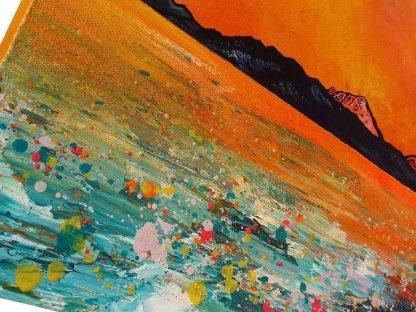 Framed print of The Isle of arran painting & prints, Ayrshire Scotland