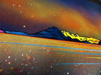 Skye Paintings & Prints - Milky Way Over Skye & The Cuillin from Elgol, Hebrides, Scotland