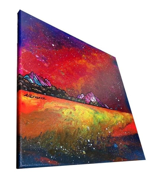 Painting & prints of Whiting Bay, Arran, Ayrshire, Scotland.