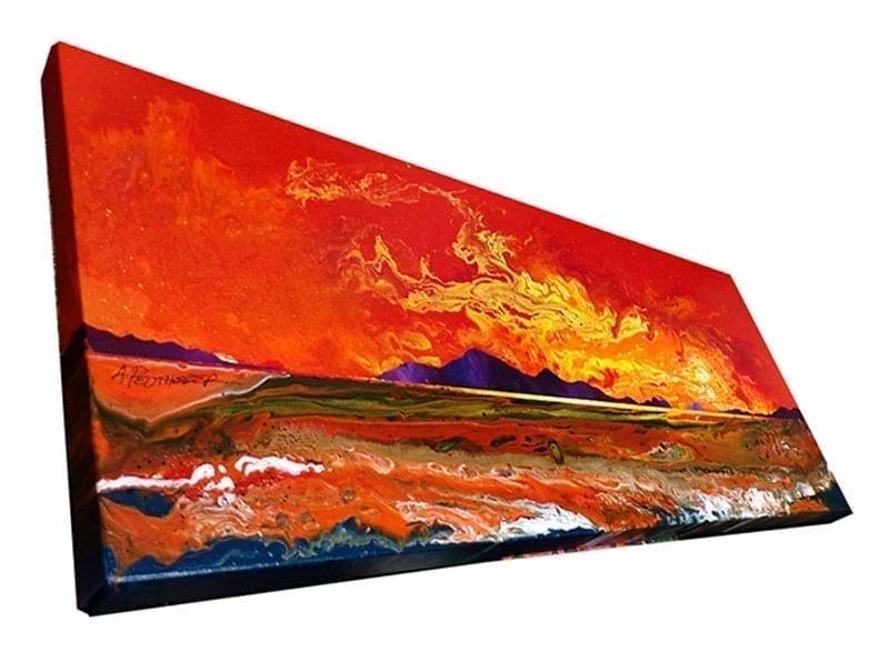 Painting & prints - Luskintyre Beach painting, Isle Of Harris, Hebrides, Scotland.