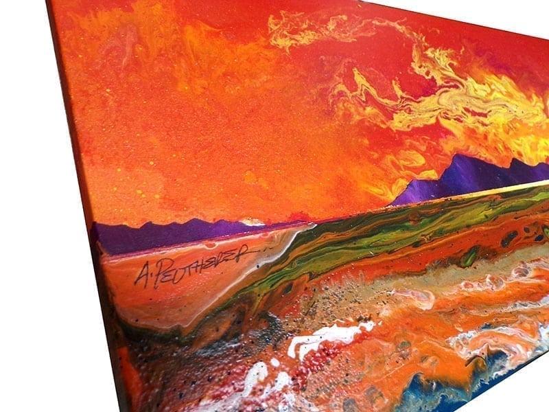 Luskintyre Beach - painting & prints, Isle Of Harris, Hebrides, Scotland.