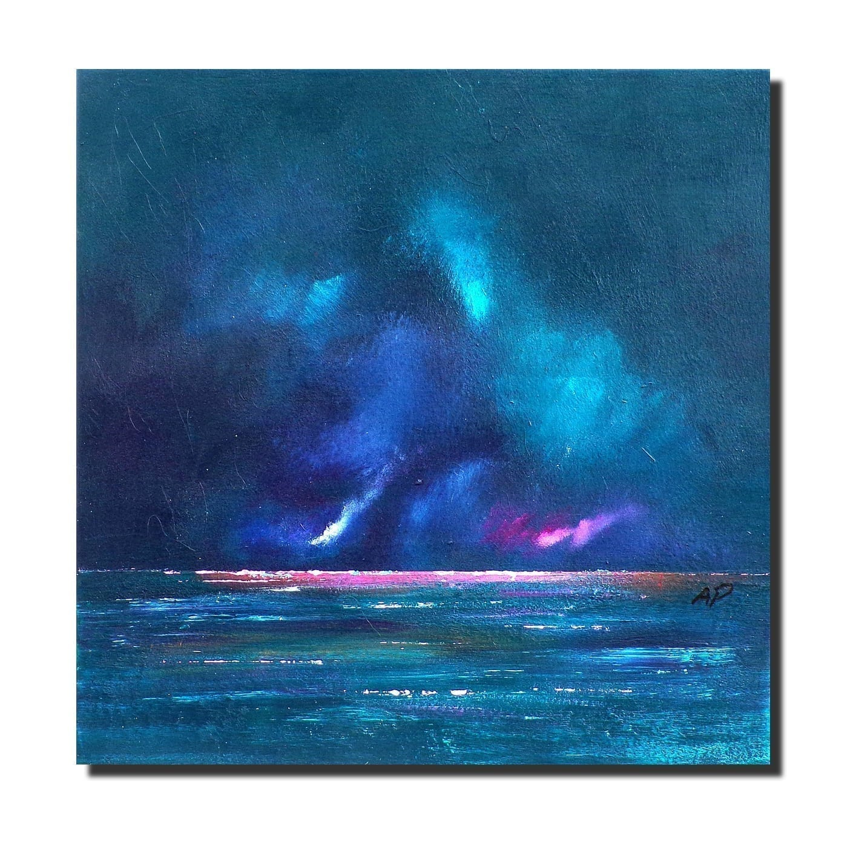 Loch Ness Storm, Scottish Highlands - Original Landscape Painting & Prints of Scotland