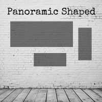 Panoramic/landscape shaped paintings & prints diagram