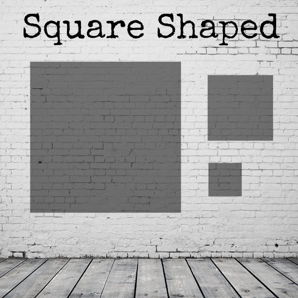 Square shaped paintings & prints diagram