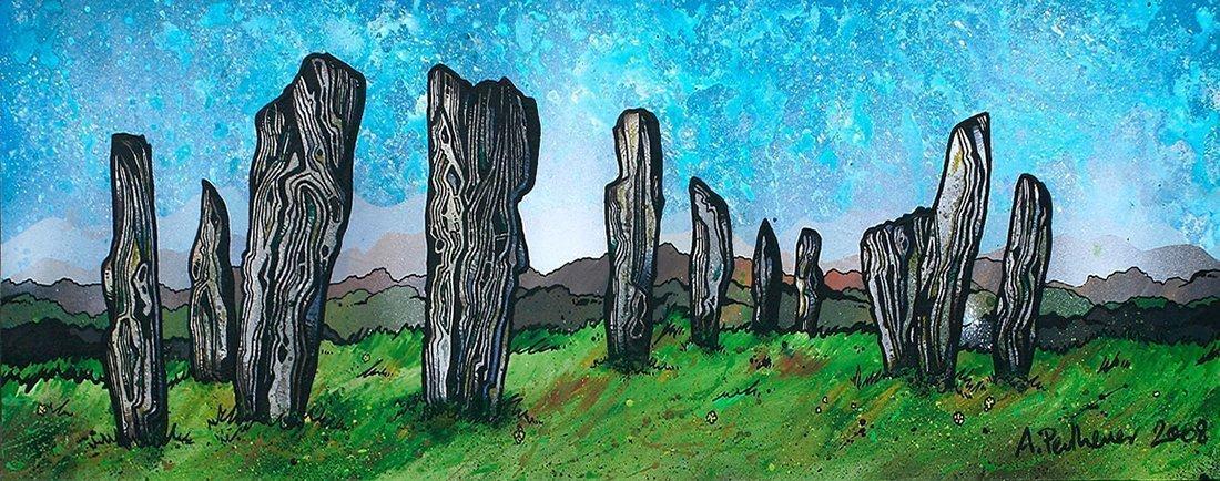 The Callanish standing Stones, Isle of Lewis, Hebrides, Scotland