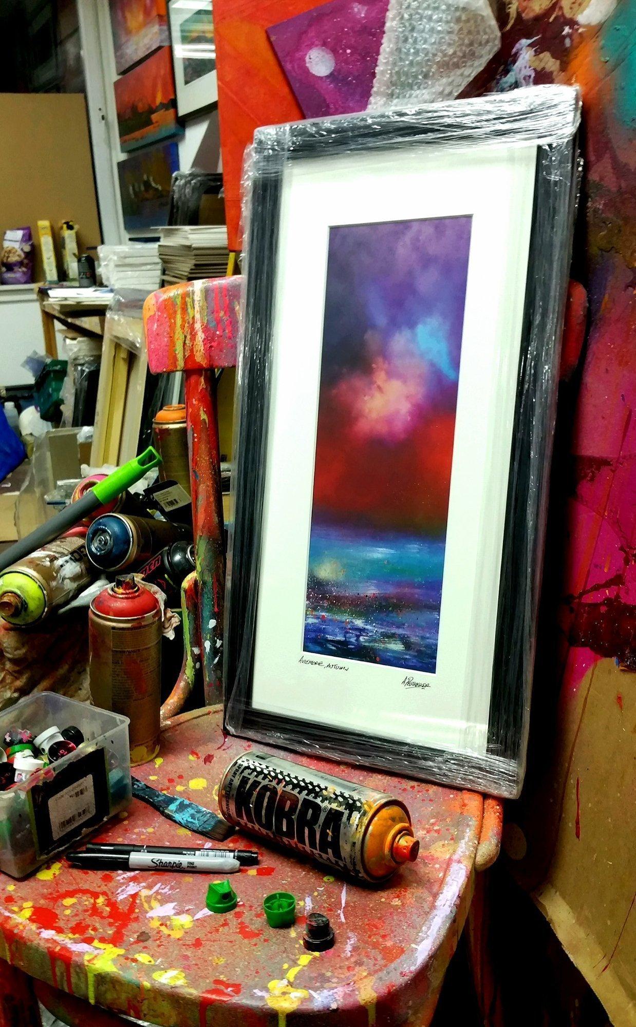 Aviemore framed art print of