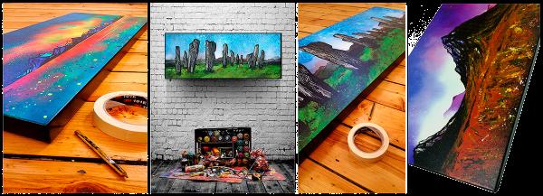 Shop canvas art prints of Scotland
