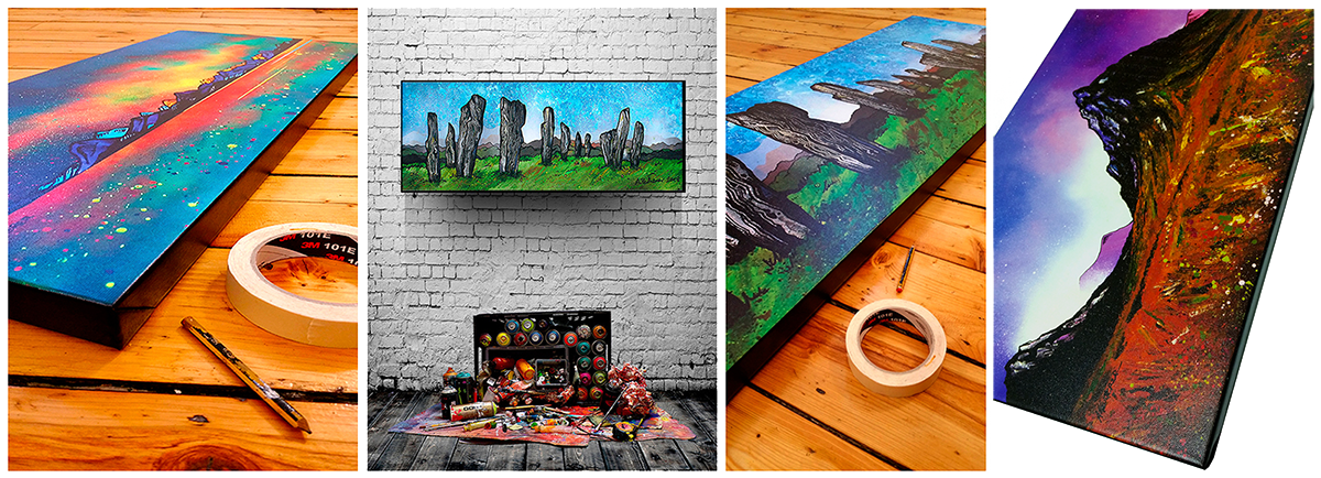 Shop canvas art prints of Scotland