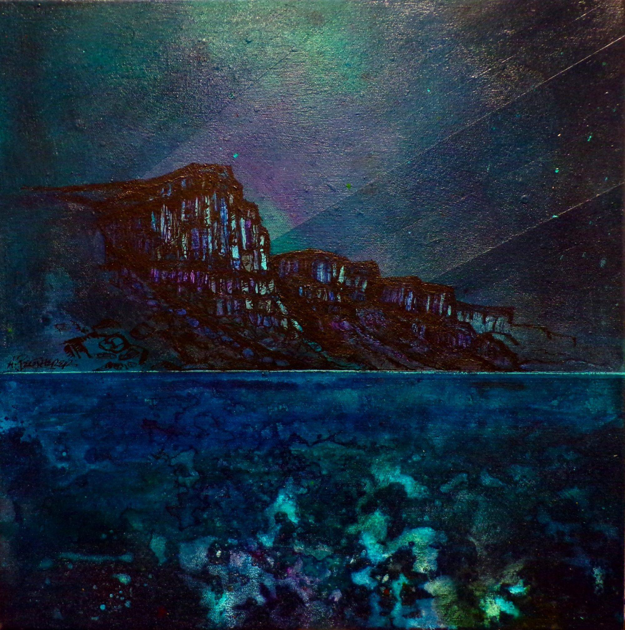 Kilt Rock, Skye - Scottish Landscape Painting & Prints by artist A Peutherer