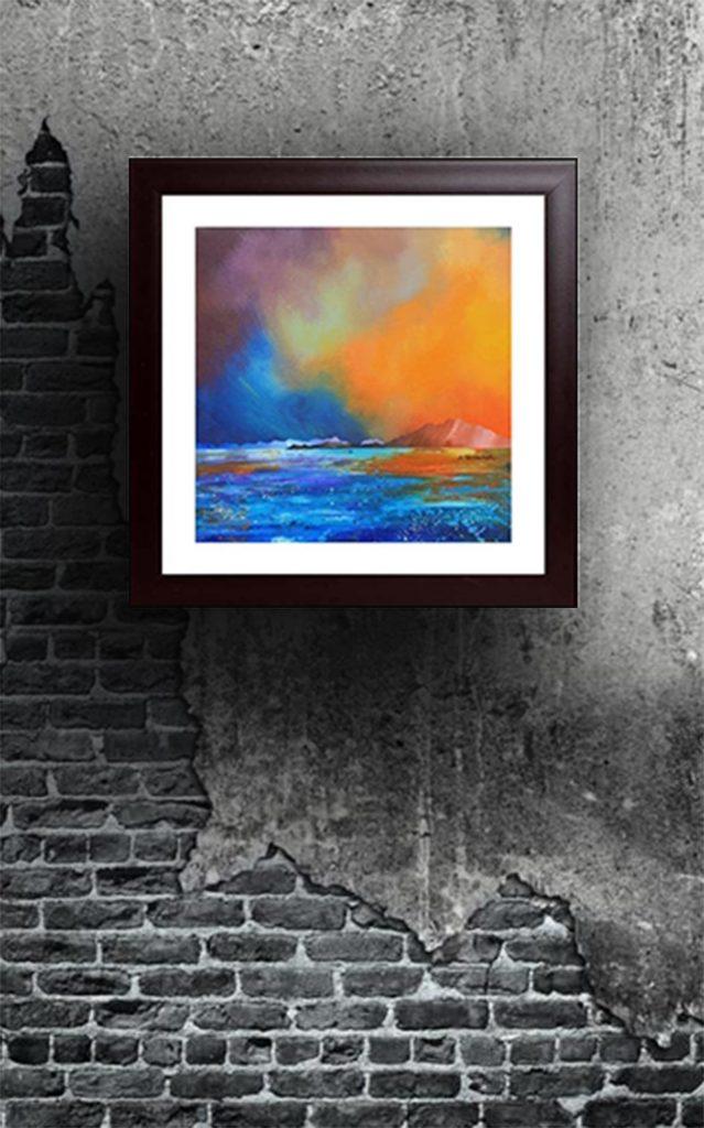 Broadford, Skye, Scotland - Framed and mounted prints