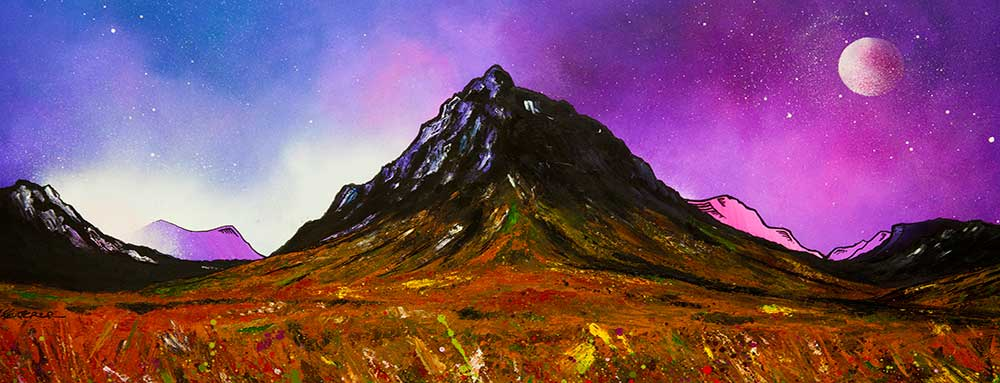 Glencoe Art Gallery - Paintings and prints by A Peutherer