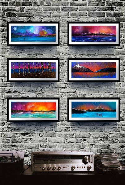 Loch Lomond - Framed prints of Scottish landscape paintings by Andy Peutherer