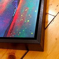 Framed Canvas Print Example