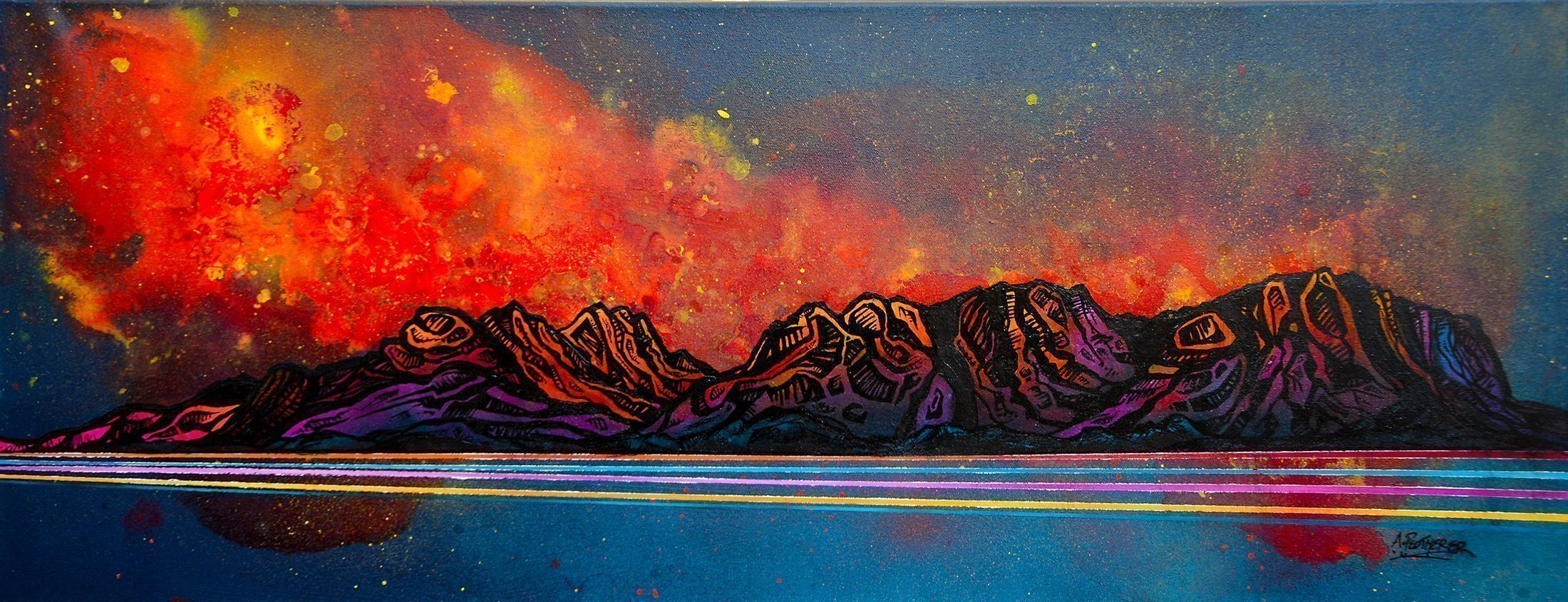 Torridon, Liathach & Allign - Scottish Painting & Prints