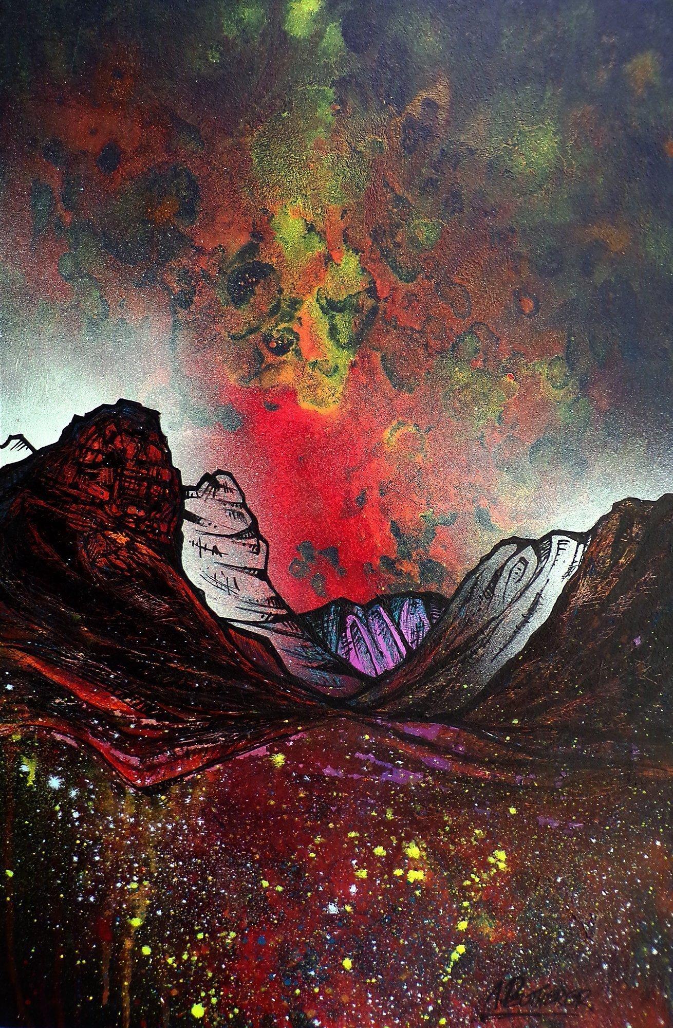 Painting & prints of Glencoe, Scottish Highlands