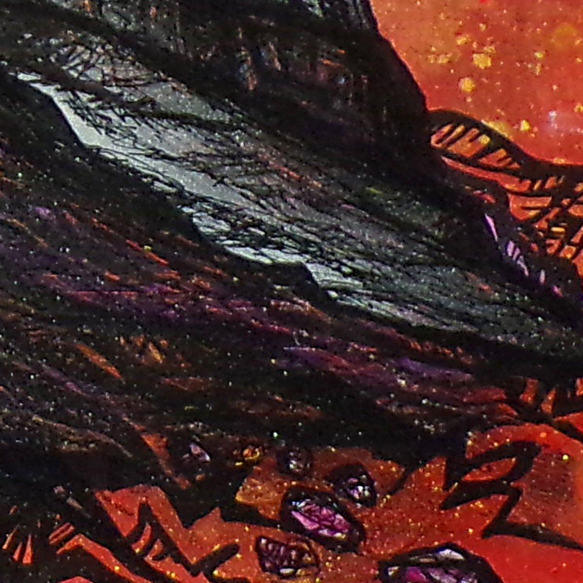 Glencoe, Scottish Highlands Original painting - Closeup