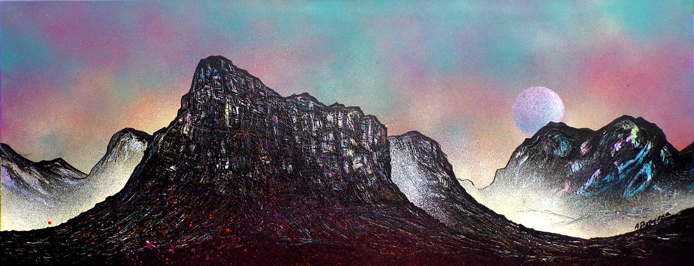 Buachaille Etive Mor, Glencoe, Rannoch Moor - Original painting & prints