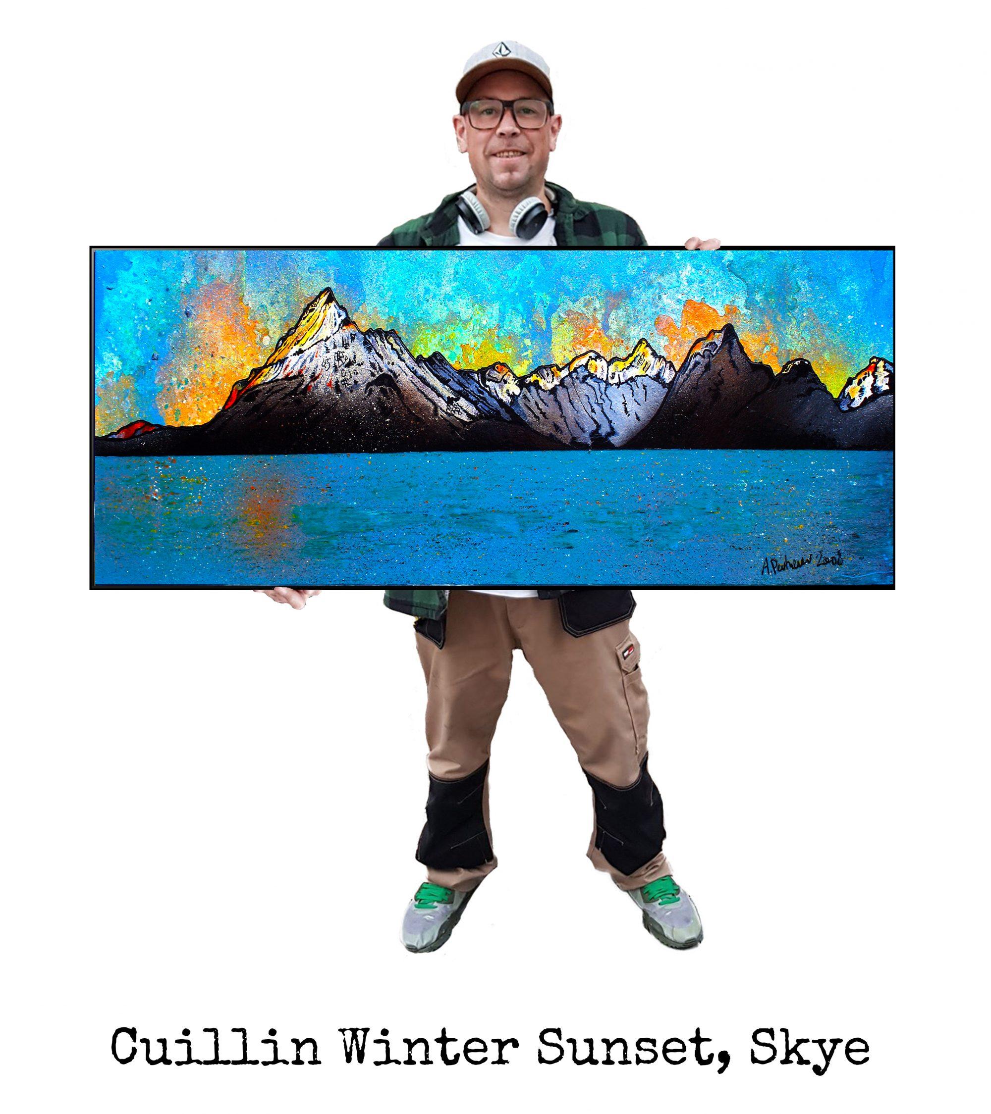 Skye, Cuillin - Art Print - Canvas, Block Mounted Or Framed