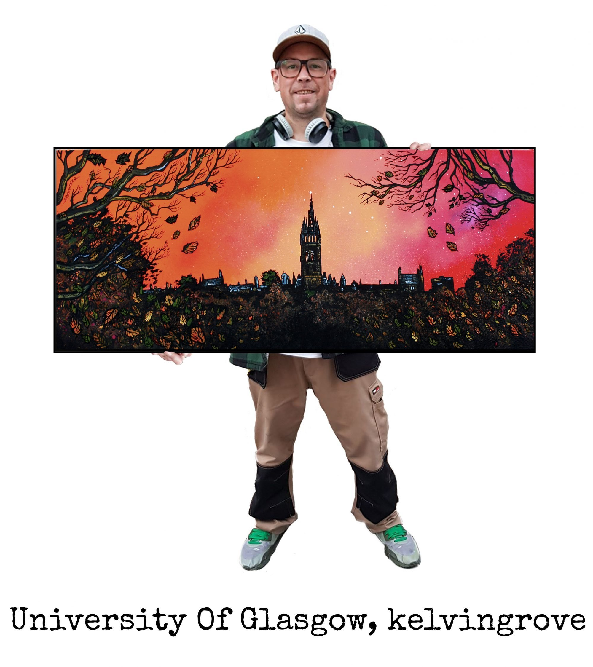 Glasgow University - Original Painting & Various Print Formats