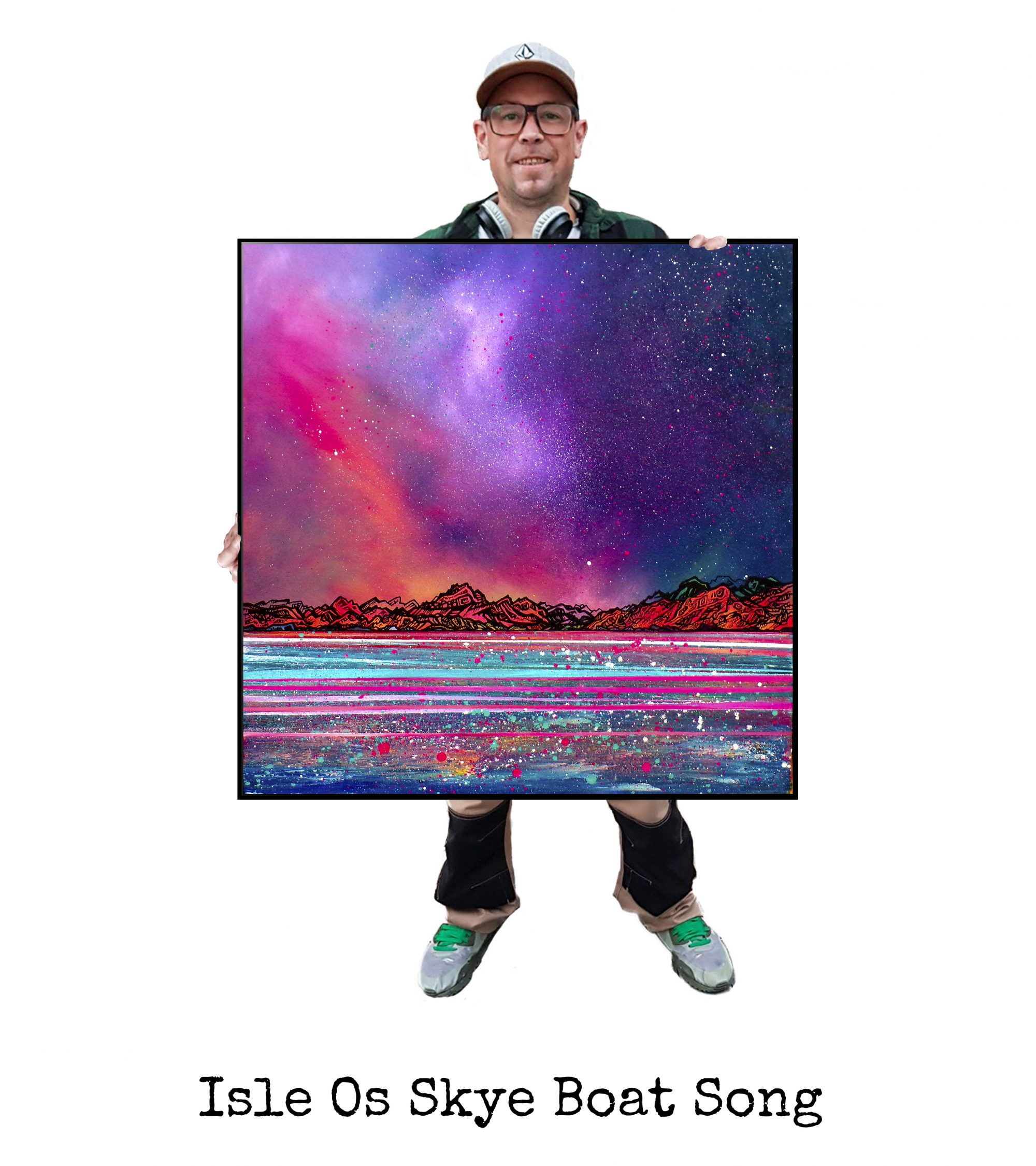 Skye Boat Song- Art Print / Painting - Canvas, Block Mounted or Framed