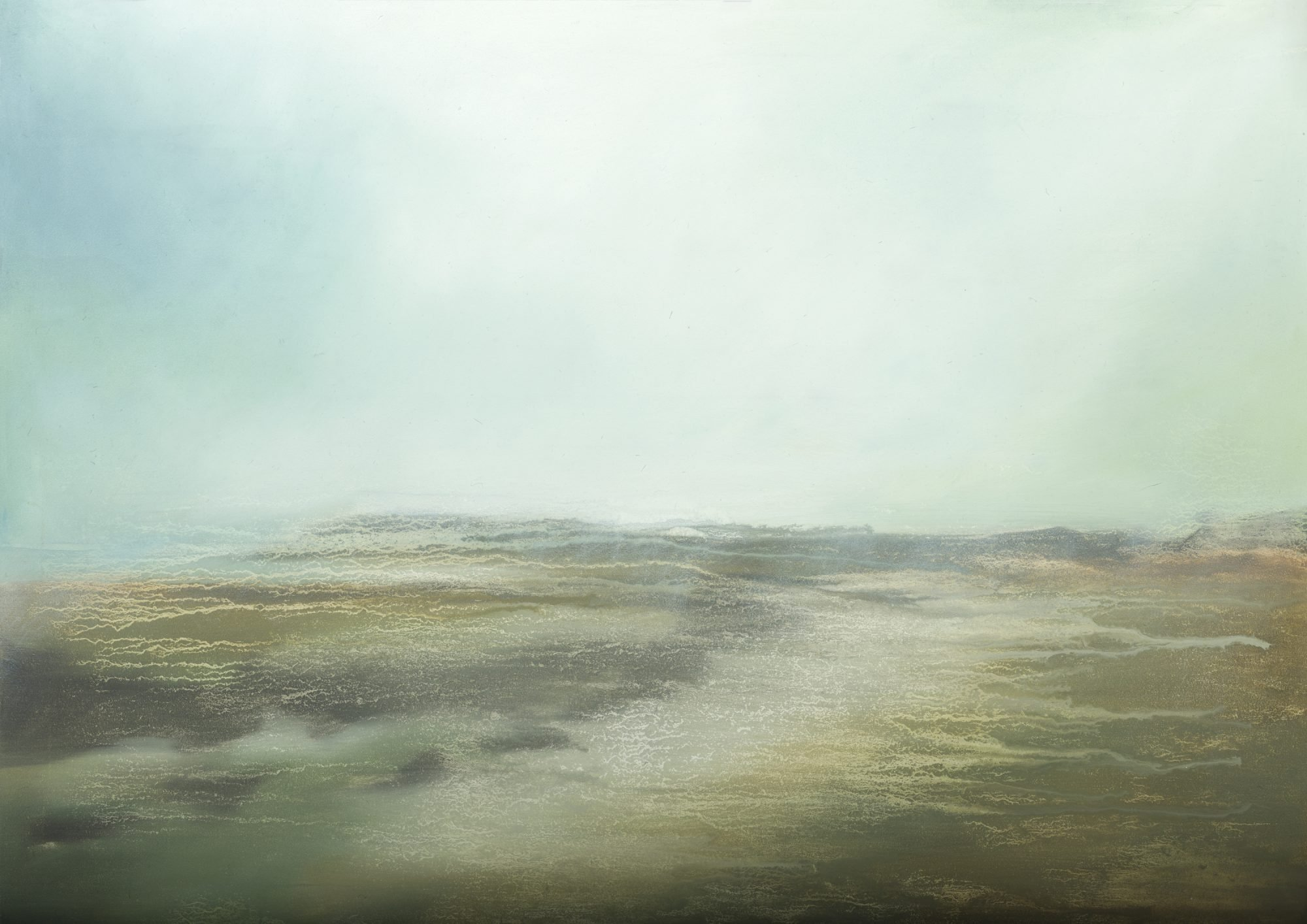 Scottish Coast - original Scottish seascape abstract painting