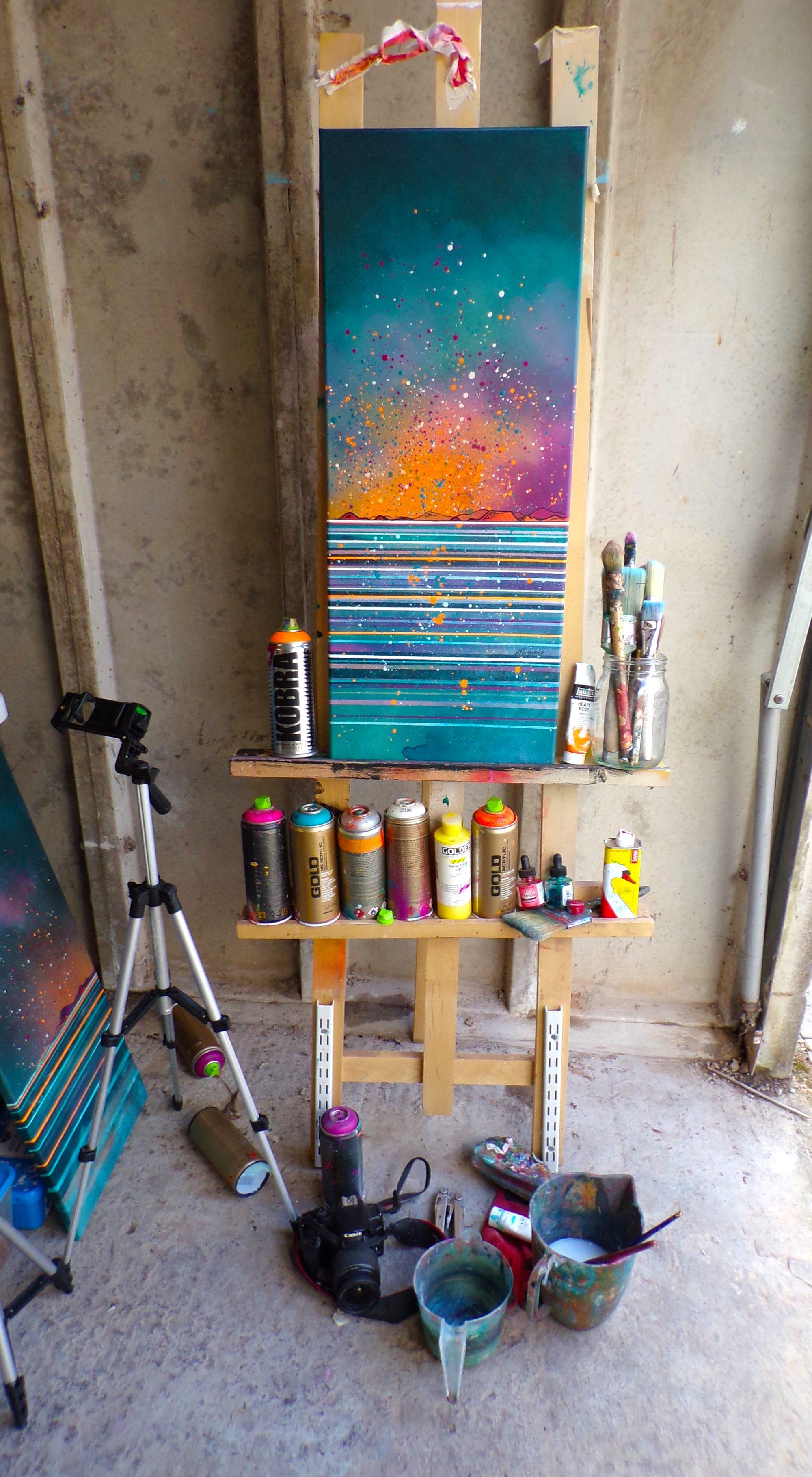Islay Canvas original Painting Canvas & Art Prints - Studio 1