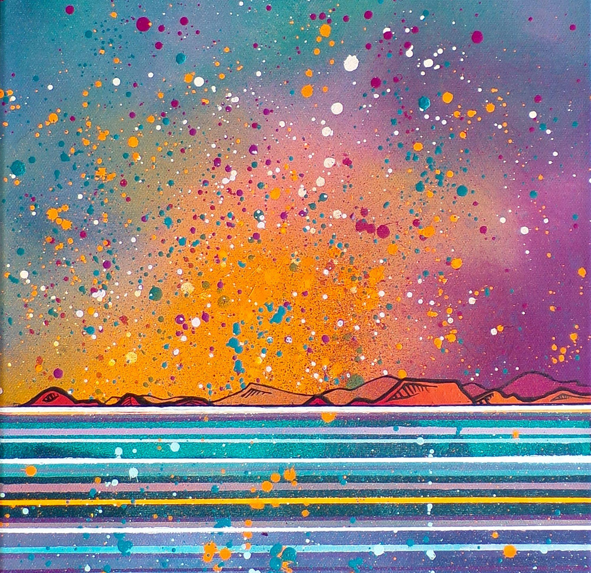 Islay Canvas original Painting Canvas & Art Prints - Closeup