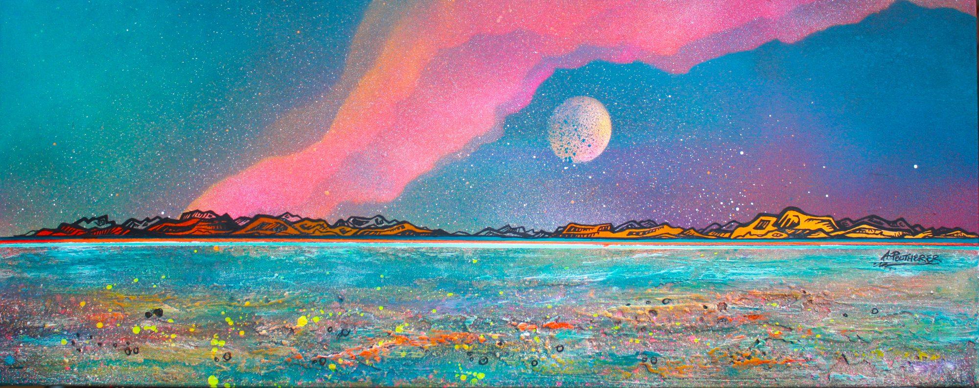 Isle Of Skye- original Painting Canvas & Art Prints