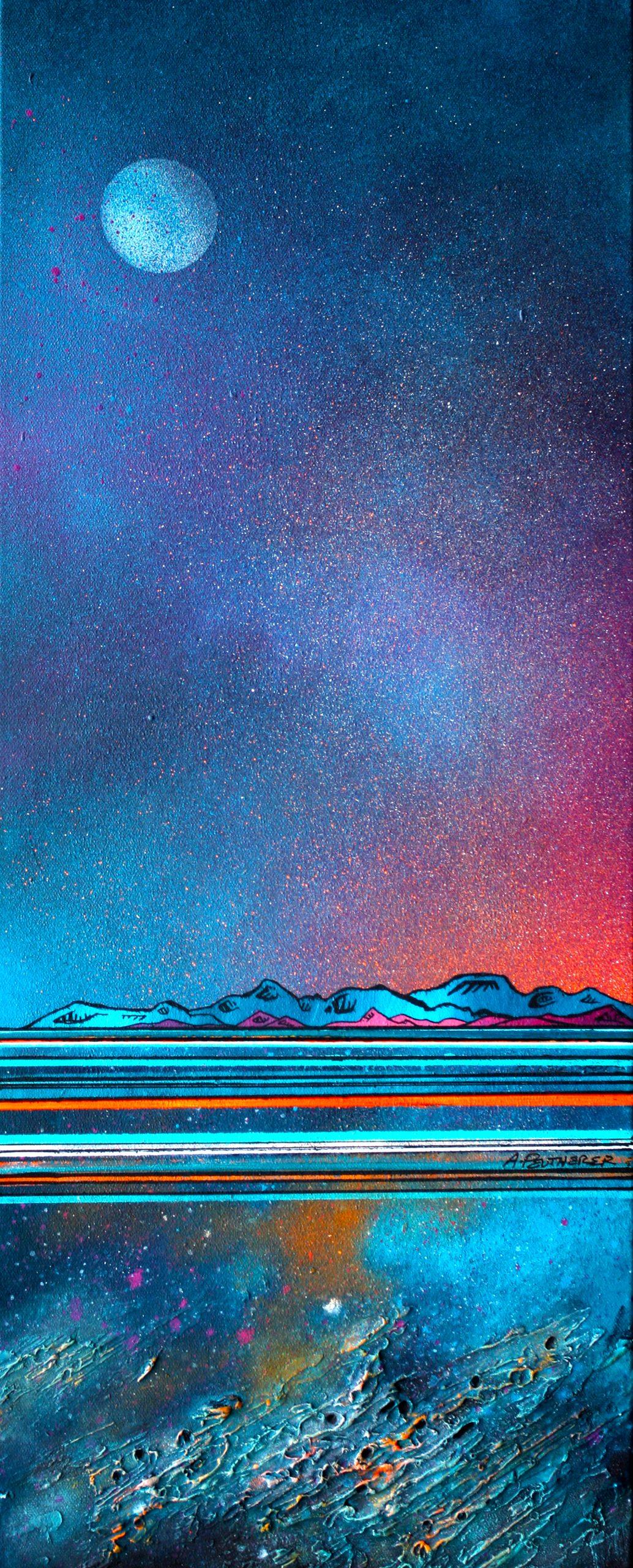 Coral Reef, Skye, Scottish Hebrides - Original canvas painting & art prints